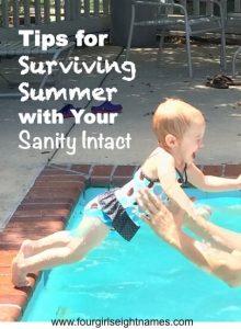 Summer sanity kids