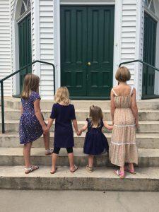 last child to preschool