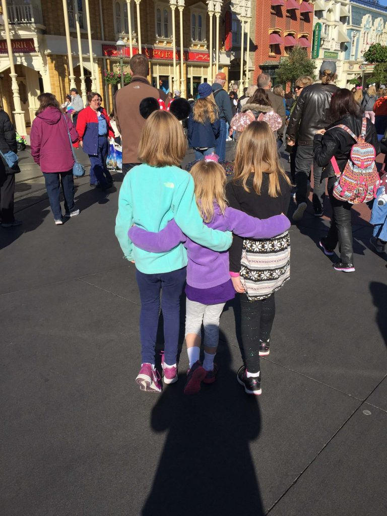 surviving Disney World with small children